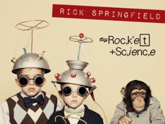 Rick Springfield's 18th studio album, 'Rocket Science,'