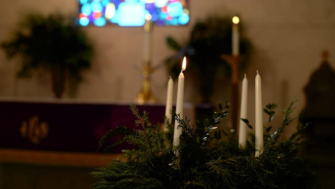 Advent begins Sunday. A brief advent wreath service in the home is a way individuals and families can keep this season. The hope held out by even a single flame is so needed in this year of pandemic.