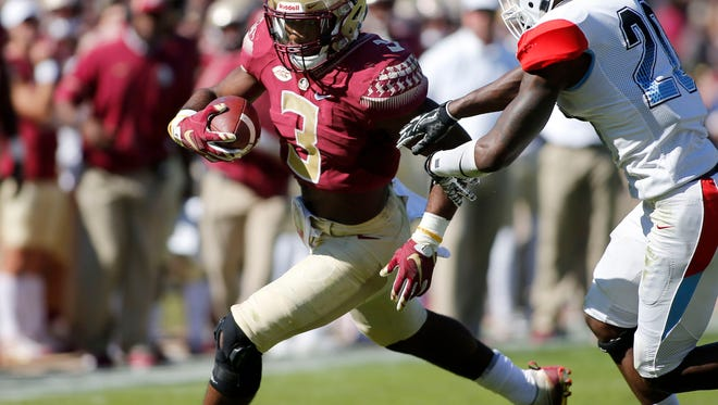 FSU running back Cam Akers has rushed for 780 yards and four touchdowns during his true freshman season