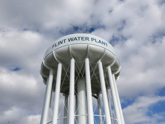 AP FLINT WATER A USA MI