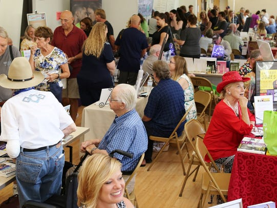 Visitors can talk with 80 Arizona authors at  the Payson
