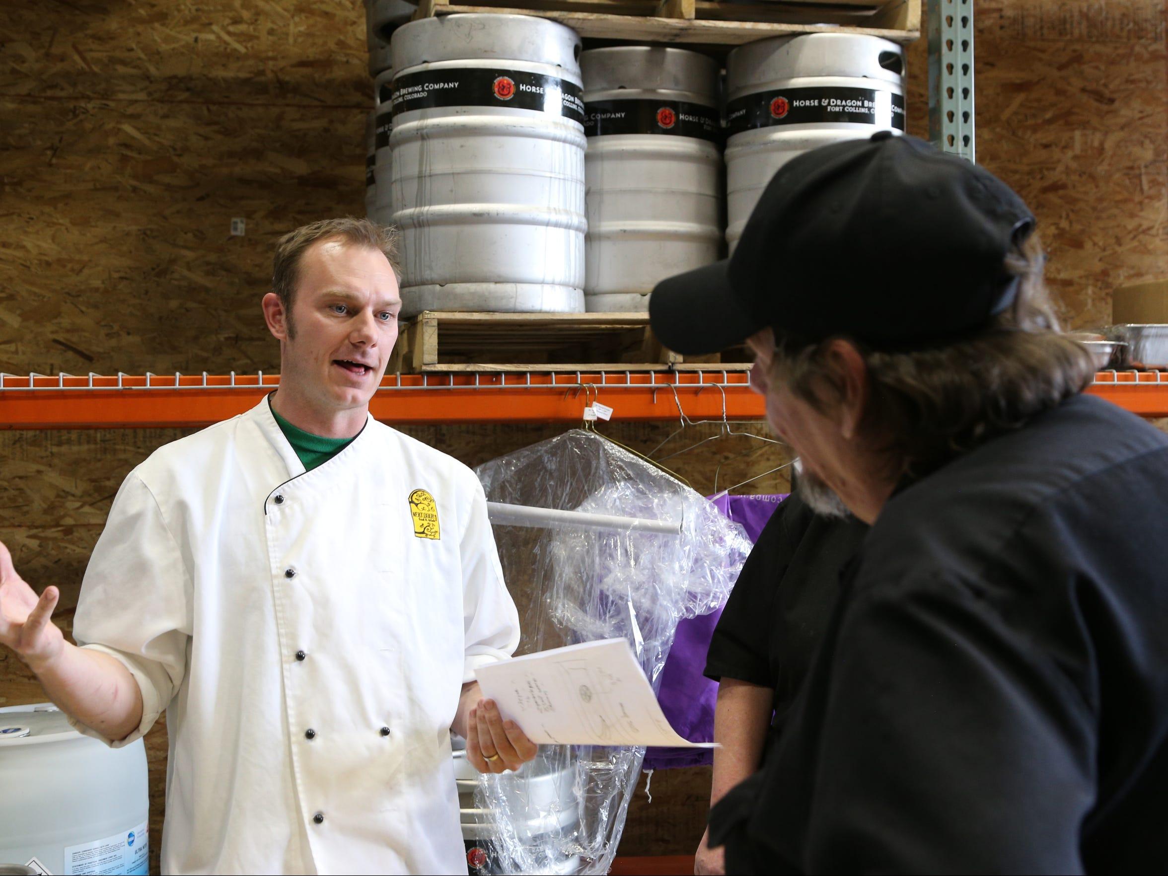 Matt Smith, executive chef at Next Door Food and Drink