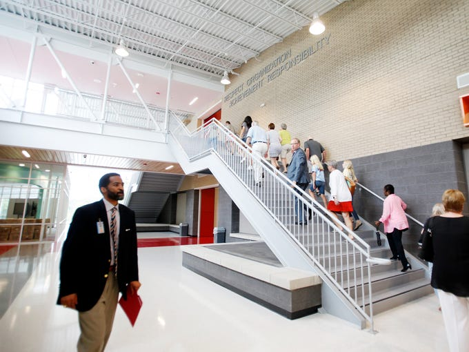 As Asheville City school officials celebrated the opening