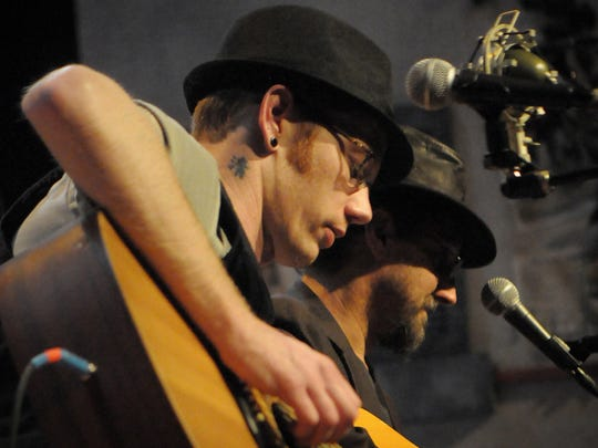Adam Hammer and Dave Cofell perform live at the Pioneer