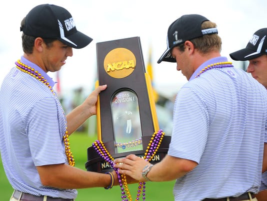 NCAA MENS GOLF: JUN 03 2015 NCAA DI Men's Golf Championship - Finals