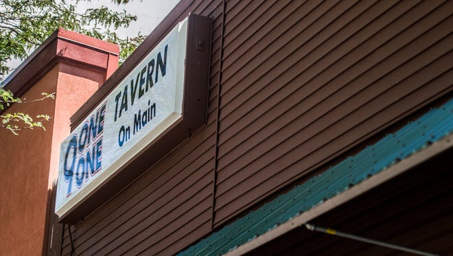 The front facade of 9-1-1 Tavern on Main is seen in downtown Richmond on Tuesday, July 25, 2017.