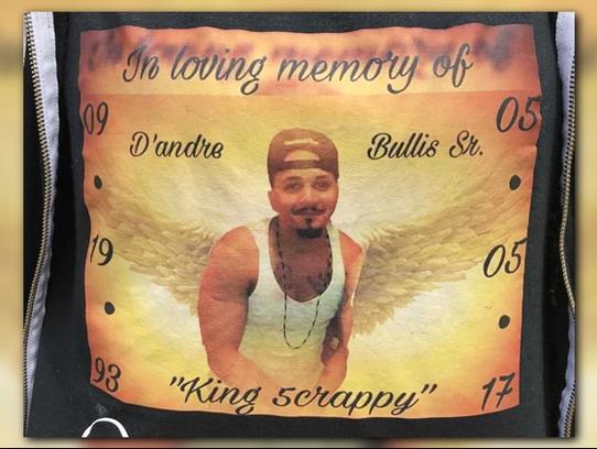Family members of murder victim D'Andre Bullis Sr.