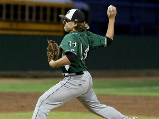 Burk vs. Iowa Park baseball