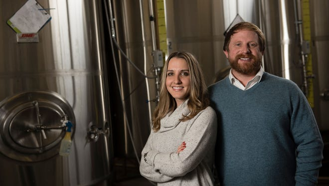 Jeremiah Johnson Brewing Co. owners Katherine and Jeremiah Johnson were selected to produce the Golden Bobcat Pale Ale in honor of Montana State University's 125th anniversary.
