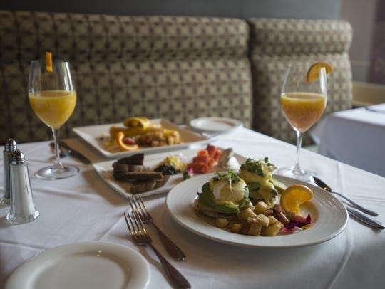 A sampling of food at Jay's Bistro, located at 135 W. Oak Street in Old Town.