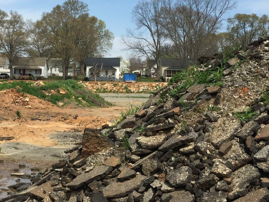 Monaghan Mill community residents say that piles of