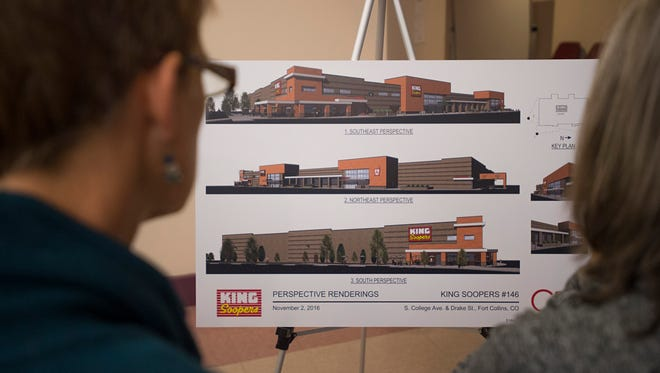 Fort Collins residents got their first look at plans for the expansion of King Soopers in 2016. Since then, there's been little progress, but officials say the pace will begin to accelerate as the grocer hopes to have a new store open in 2022.