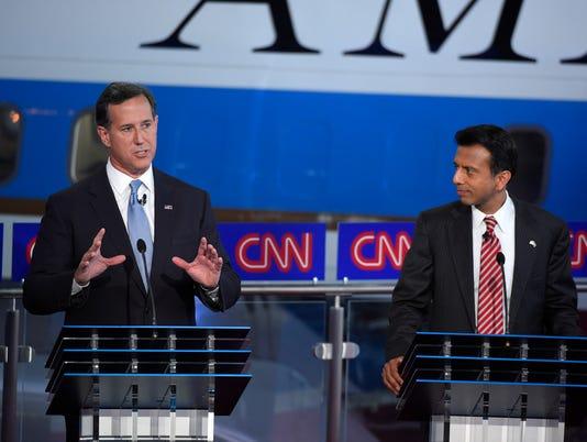 Rick Santorum, Bobby Jindal
