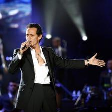 "8/30: MARC ANTHONY | The singer brings Jeffrey Gaines on his ""Cambio de Piel Tour 2014"" tour to the Jobing.com Arena. jobingarena.com."