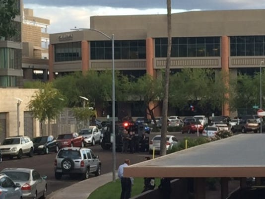 Police situation outside W Scottsdale hotel