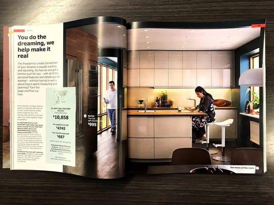 Ikea's Sektion/Voxtorp complete kitchen.