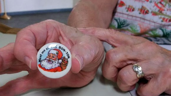 Jean Doll of Manchester Township visited the York Daily Record/Sunday News offices earlier this year to share a Christmas pin from The Bon-Ton, which a reader had asked about.