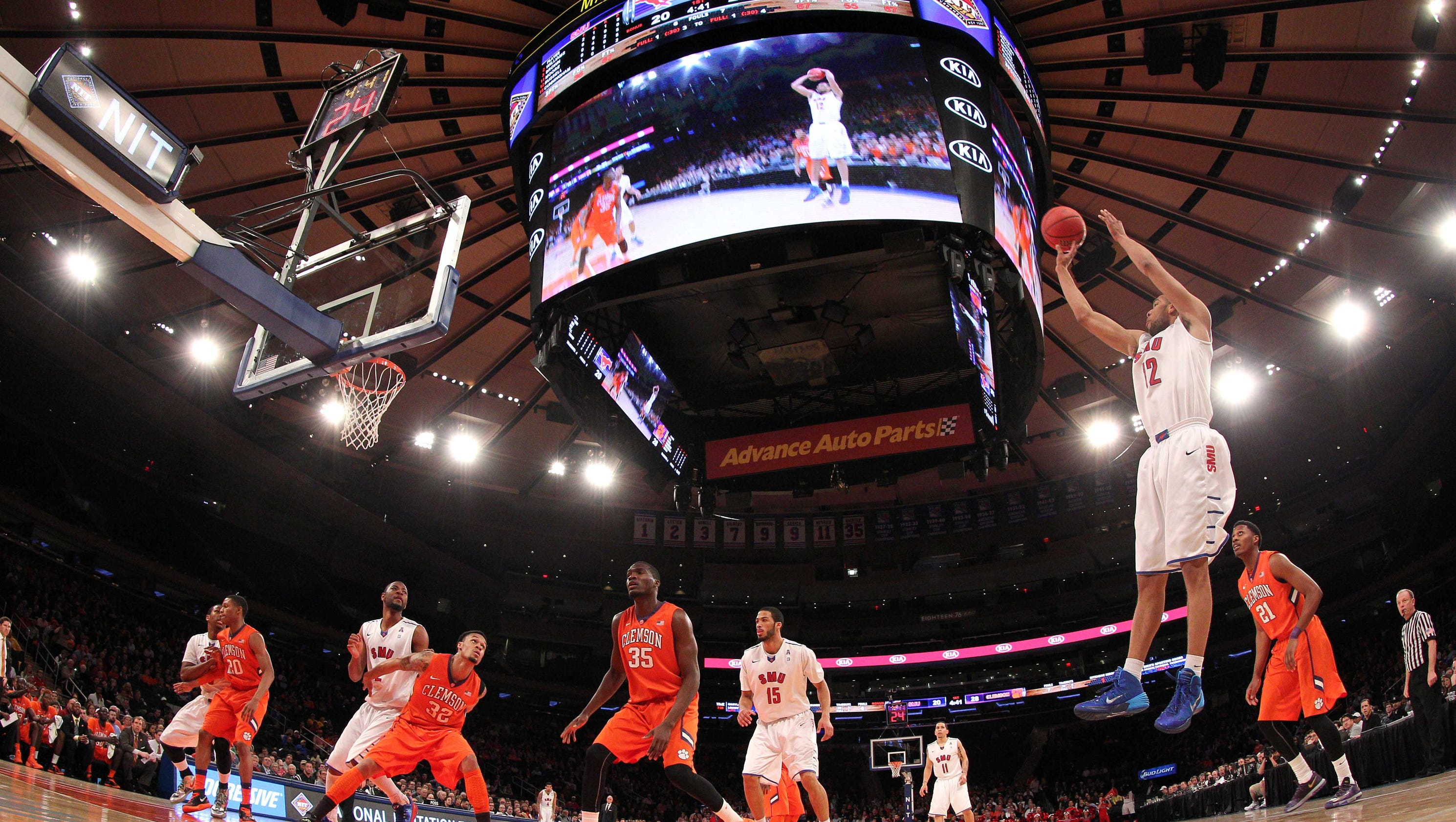 NIT to experiment with 30-second shot clock this season