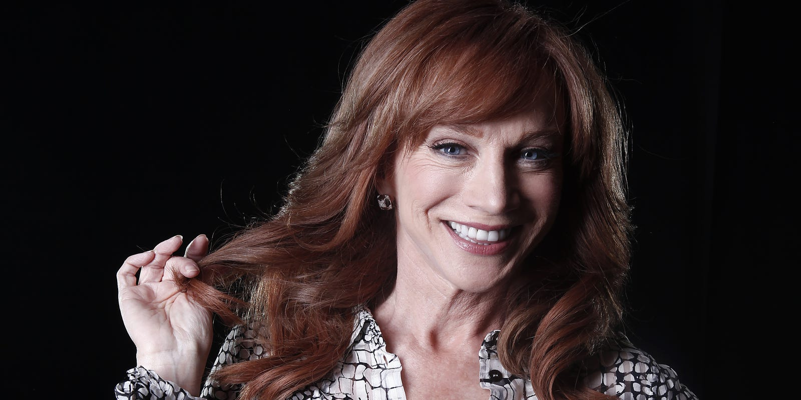 No one's safe from Kathy Griffin in Fort Myers  Not even Trump