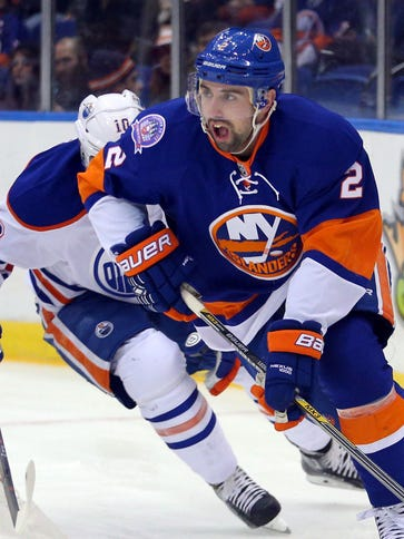 New York Islanders defenseman Nick Leddy had his driver's