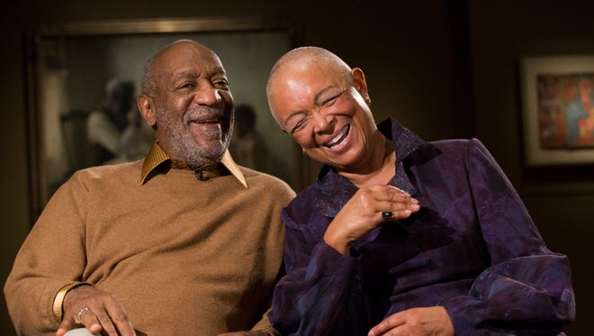 Bill Cosby and his wife Camille Cosby.
