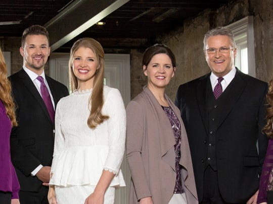The Collingsworth Family will perform at the Jackson Sings the Gospel Event July 13-16