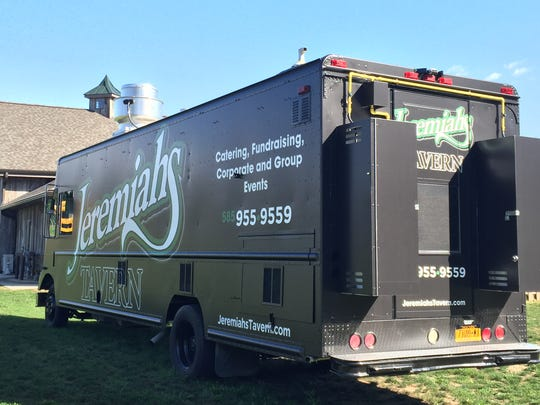 The Jeremiah's Tavern food truck will make its jazz festival debut in 2017.