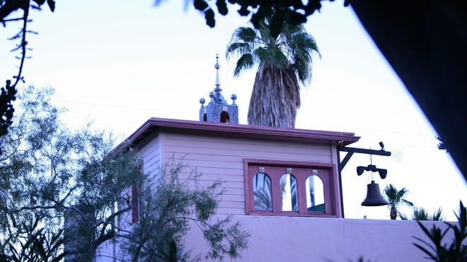The Willard Price Hacienda Cottage at F Street and Cathedral Canyon in Cathedral City.