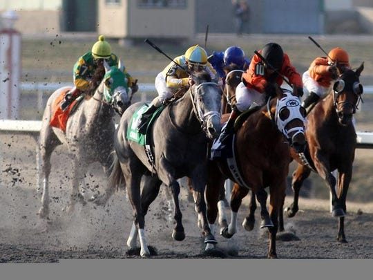 Spiral Stakes at Turfway Park, Florence.