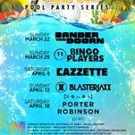 The Soundwave Pool Party Series launches at Maya on March 22 with Sander van Doorn.