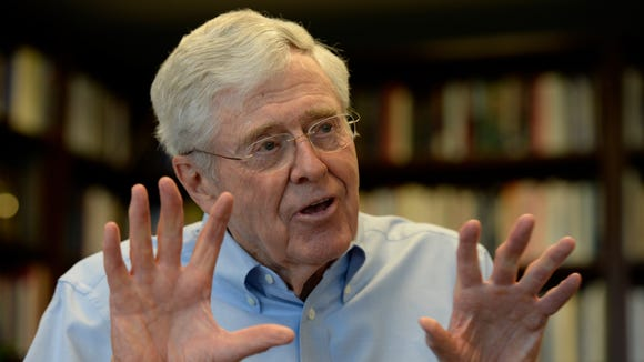 Charles Koch is chairman and CEO of Koch Industries,