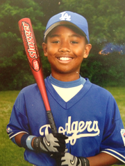 D.J. Fenner played a number of sports in his youth, including basketball, football, baseball and lacrosse.