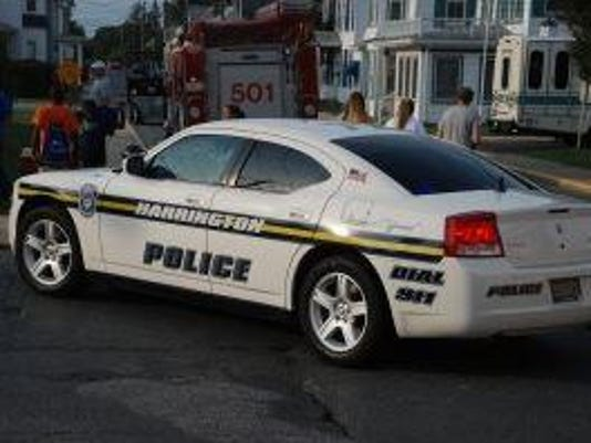 Harrington PD car