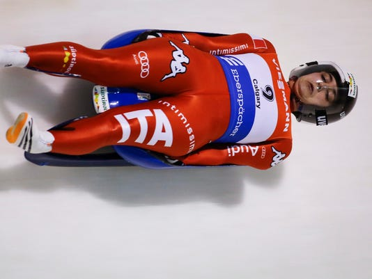 AP CANADA WORLD CUP LUGE S LUG CAN