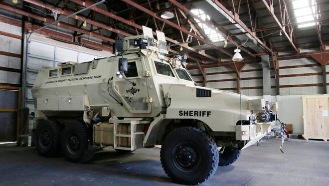 Earlier this week, President Barack Obama announced an executive order to prohibit the sale or transfer of some surplus military equipment from the federal government to local law enforcement agencies.