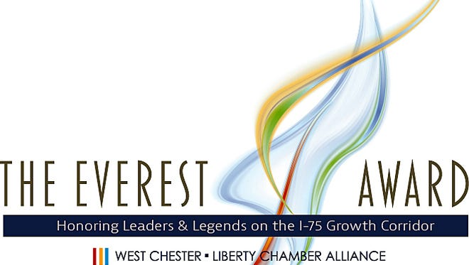 The Everest Award will be given July 21 from the Chamber Alliance of West Chester/Liberty.