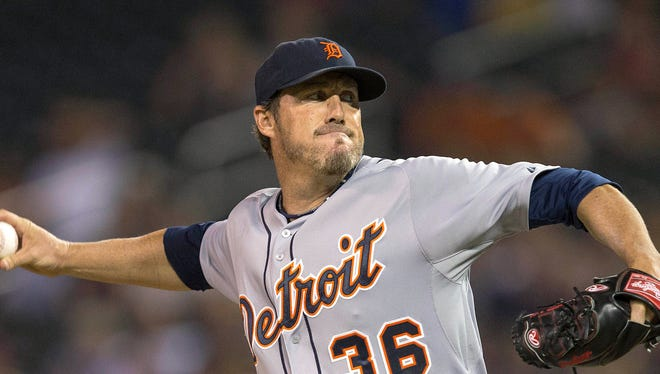 Tigers relief pitcher Joe Nathan