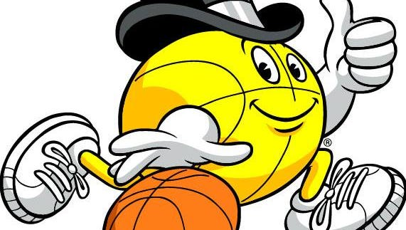 The mascot for the Gus Macker 3-on-3 basketball tournament which is making its return to Indianapolis after more than a decade