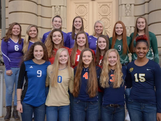 The 2017 Enquirer All-City Volleyball Team, as selected
