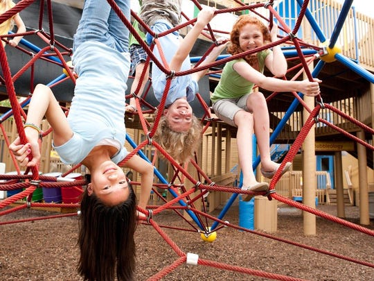 The Sciencenter Playground mixes fun with lessons about how our universe works.