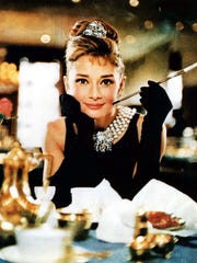 Audrey Hepburn appears in a photo from the 1961 film,