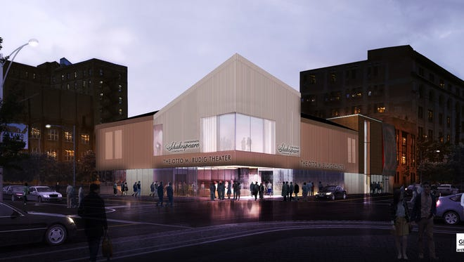 This rendering shows the future home of the Cincinnati Shakespeare Company in Over-the-Rhine.