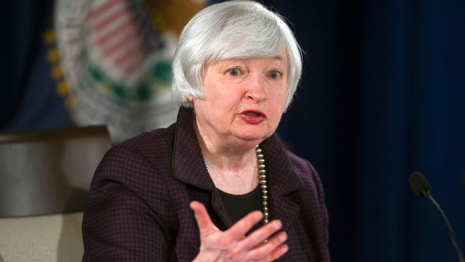 Federal Reserve Chair Janet Yellen Let a two-day meeting of policymakers that ended Wednesday.