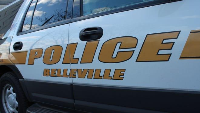 A Belleville Police Department car