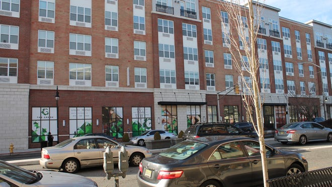 The Green at Bloomfield, a recently constructed mixed-use building at 56 Broad St.