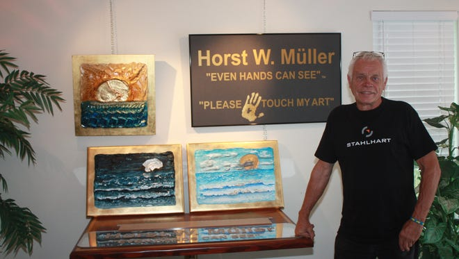 Artist Horst W. Muller will be among the 80-plus artists at the Sandhill Cove Retirement Living Art Show and Sale on noon to 4 p.m. on Feb. 24. Admission is free.