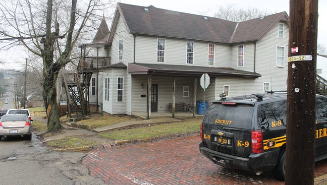 Three people were arrest and bulk quantities of heroin and methamphetamine were seized Friday morning at an apartment in New Lexington.