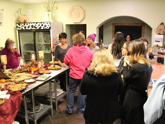 It was a full house at Kitchen 19 as women enjoyed