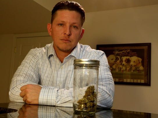 Donny Barnes of Lake Orion says he's a medical-marijuana user who was the innocent victim of a 2014  police raid; investigators argue that he was a drug dealer, but his criminal case was dismissed.