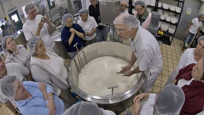"""The Center for Dairy Research's (CDR) short course, """"Making Consistent, Quality Cheese with Membrane Concentrated Milk"""" is intended for dairy processors who currently use or are interested in using membrane concentrated milk for cheesemaking."""